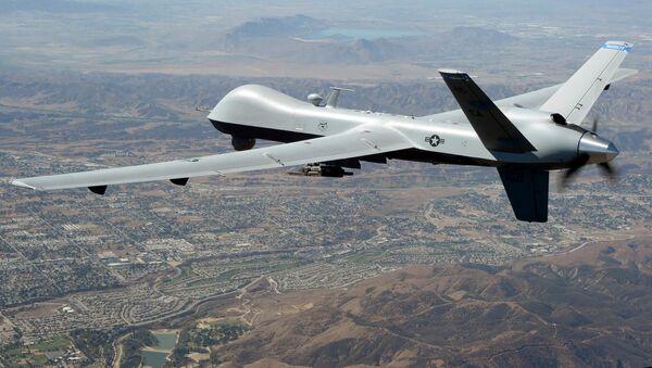 Amerykański dron zwiadowczy MQ-9 Reaper. Zdjęcie archiwalne - Sputnik Polska
