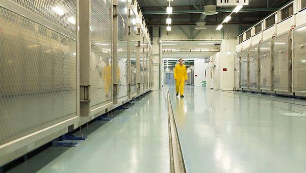 Wnętrze zakładu konwersji uranu Fordow - Sputnik Polska