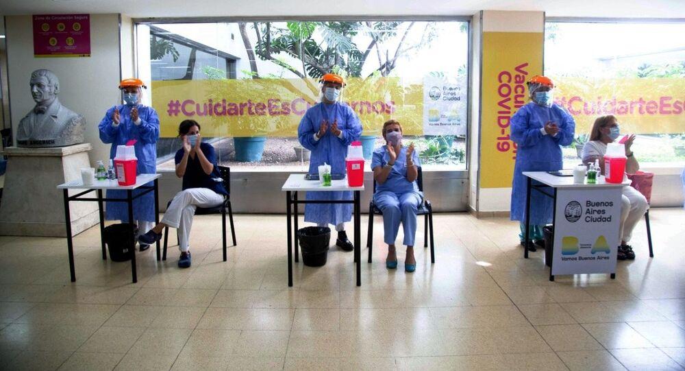 Szczepienia rosyjską szczepionką w Argentynie