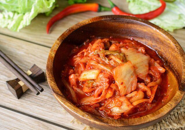 Koreańskie danie kimchi
