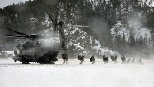 USA i ich sojusznicy przeprowadzają ćwiczenia wojskowe w Arktyce - Sputnik Polska
