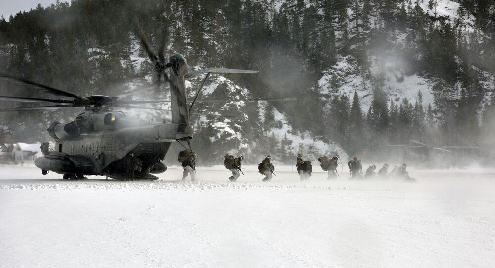 USA i ich sojusznicy przeprowadzają ćwiczenia wojskowe w Arktyce