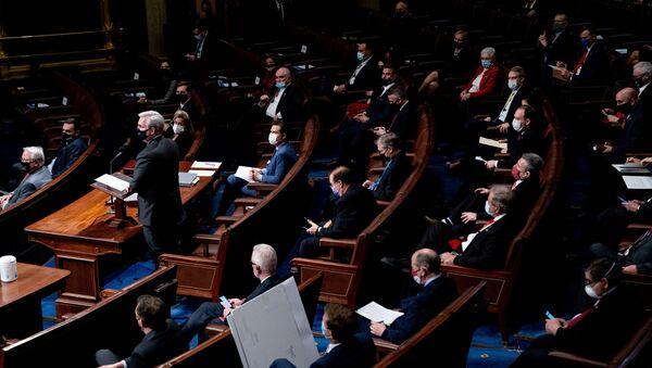 Spotkanie w Kongresie USA - Sputnik Polska