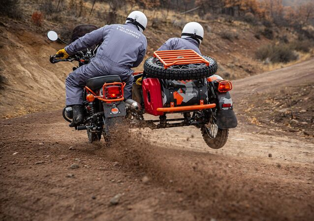 Ural Gear Up GEO.