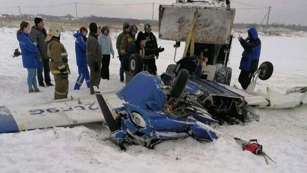 Katastrofa Piper PA-28 Cherokee pod Petersburgiem - Sputnik Polska