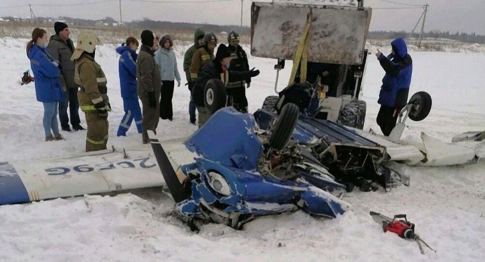 Katastrofa Piper PA-28 Cherokee pod Petersburgiem