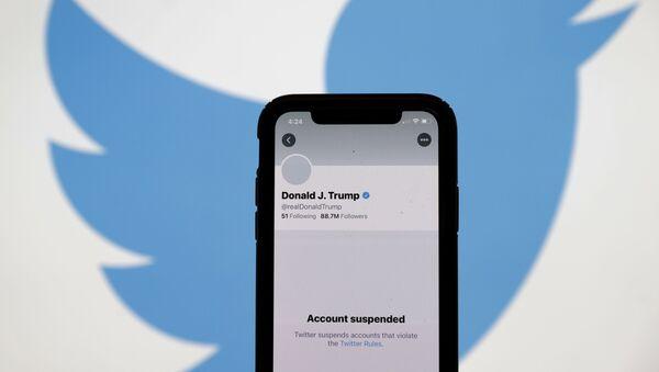 Konto Donalda Trumpa na Twitterze. - Sputnik Polska
