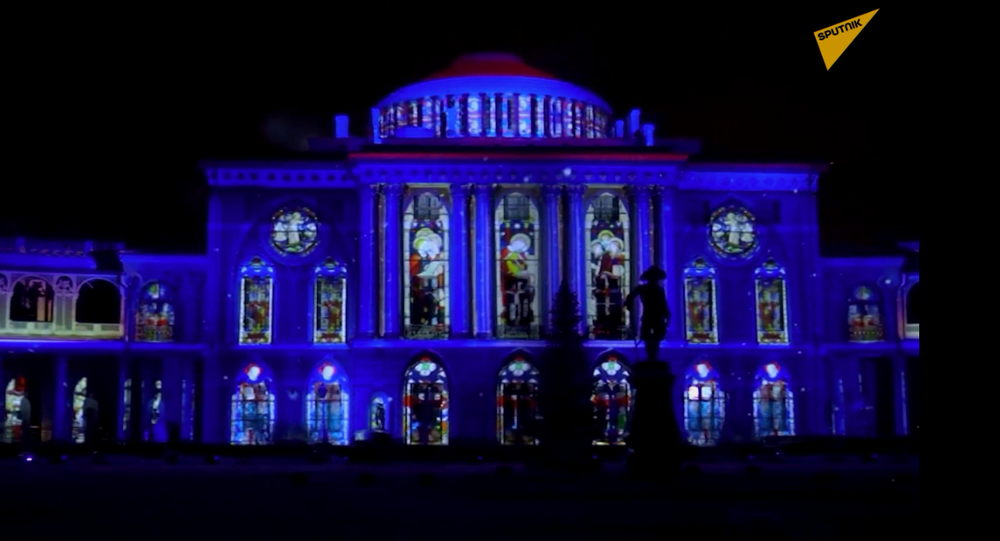 """Festiwal pokazów świateł i ognia """"Gwiazda Bożonarodzeniowa"""""""