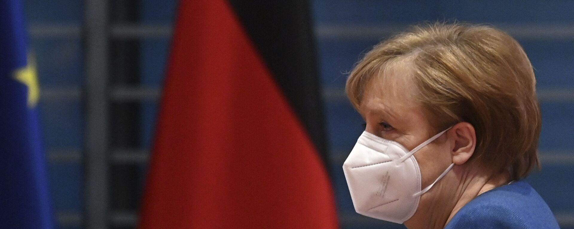 Kanclerz Niemiec Angela Merkel. - Sputnik Polska, 1920, 12.06.2021