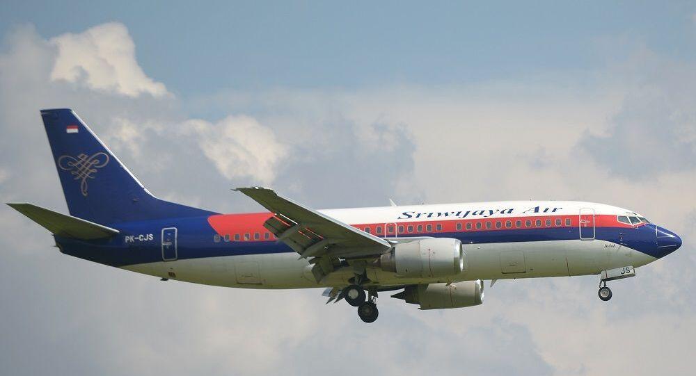Samolot pasażerski Boeing 737-300 linii Sriwijaya Air