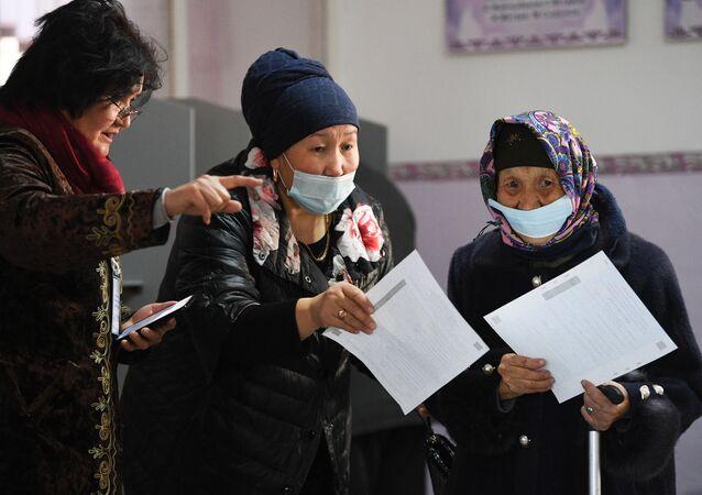 Wybory prezydenckie w Kirgistanie