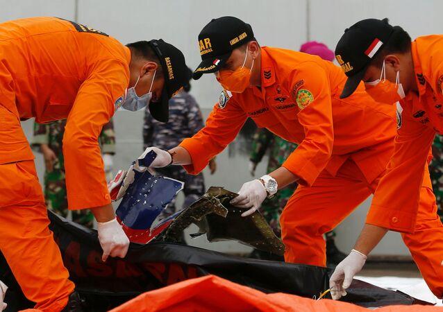 Katastrofa samolotu Boeing 737 indonezyjskich linii lotniczych Sriwijaya Air.