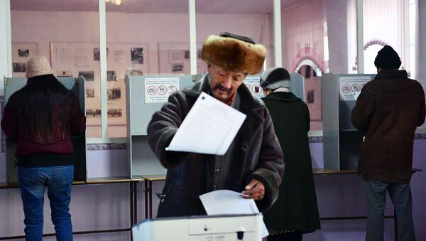 Wybory w Kirgistanie - Sputnik Polska