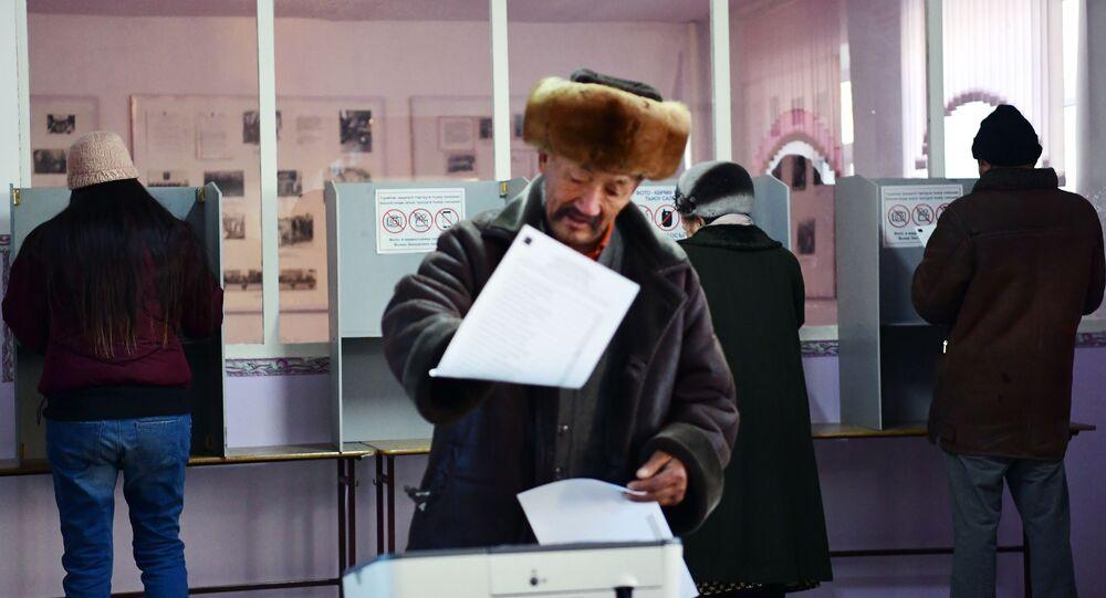 Wybory w Kirgistanie.