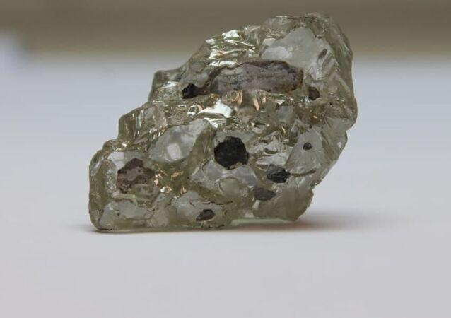 109-karatowy diament wydobyty pierwszego dnia 2021 roku