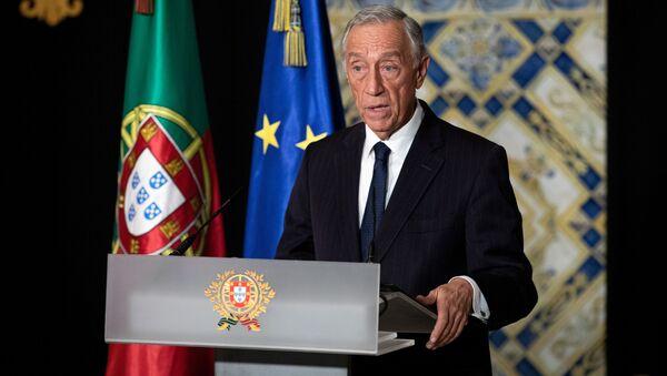 Prezydent Portugalii Marcelo Rebelo de Sousa - Sputnik Polska