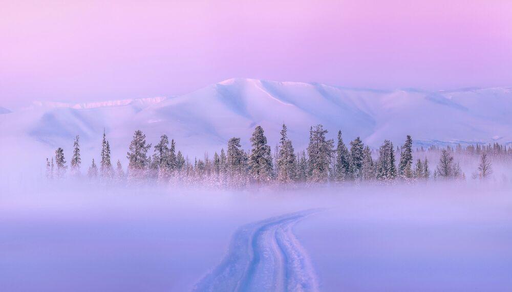 Zdjęcie autorstwa Olega Semenkewicza  Tuż przed zachodem słońca