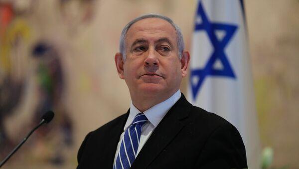 Benjamin Netanjahu - Sputnik Polska