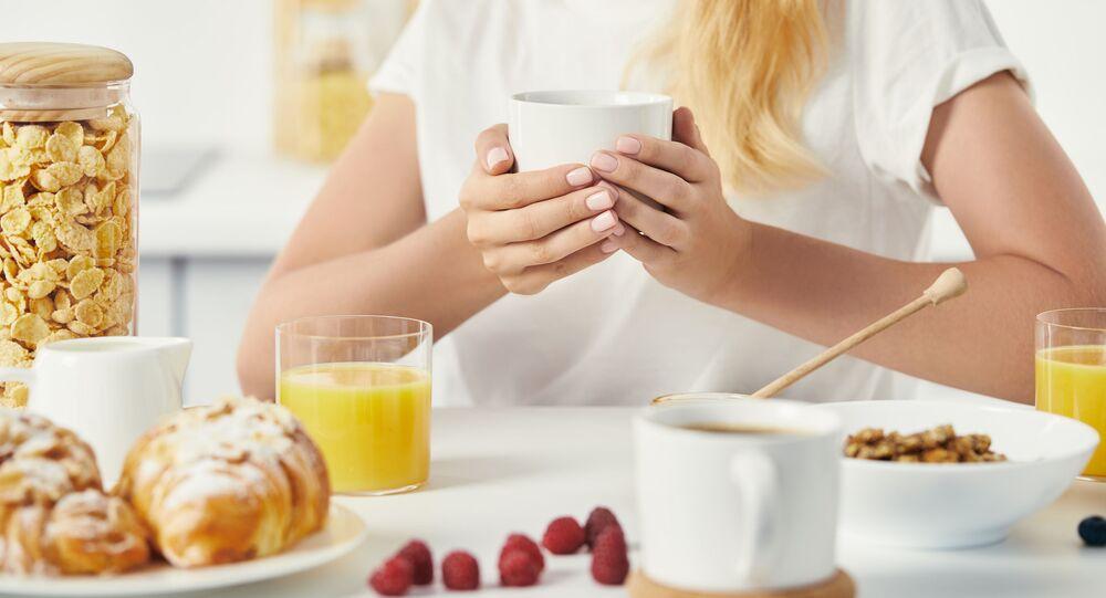 Śniadanie z kawą