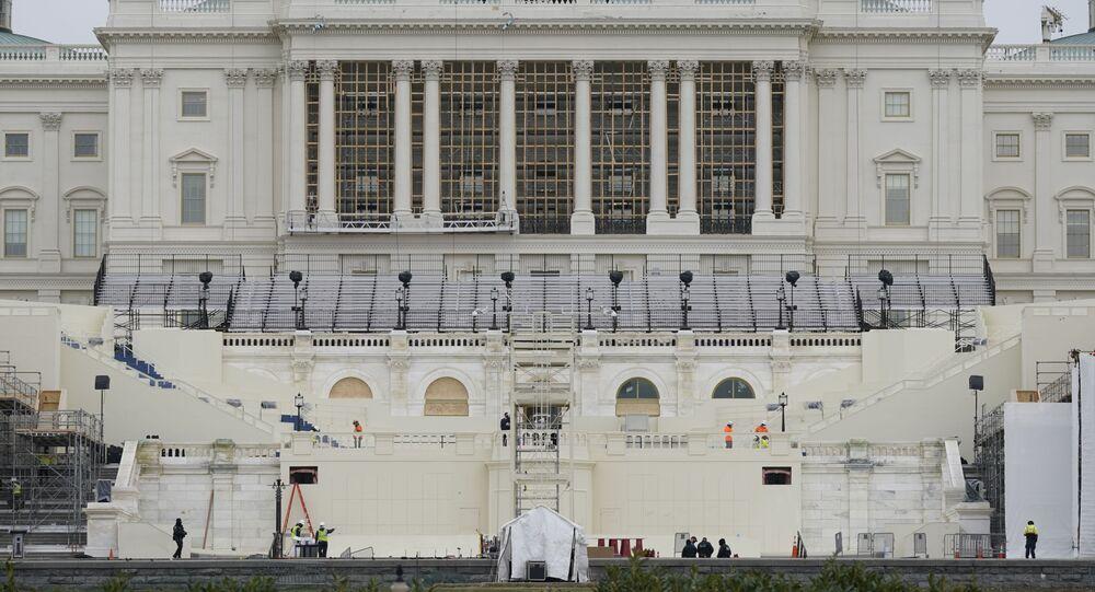Gmach Kongresu w Waszyngtonie.