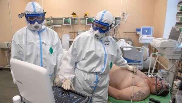 Naukowcy ostrzegają przed ryzykiem dysfunkcji mózgu u pacjentów z COVID-19. - Sputnik Polska