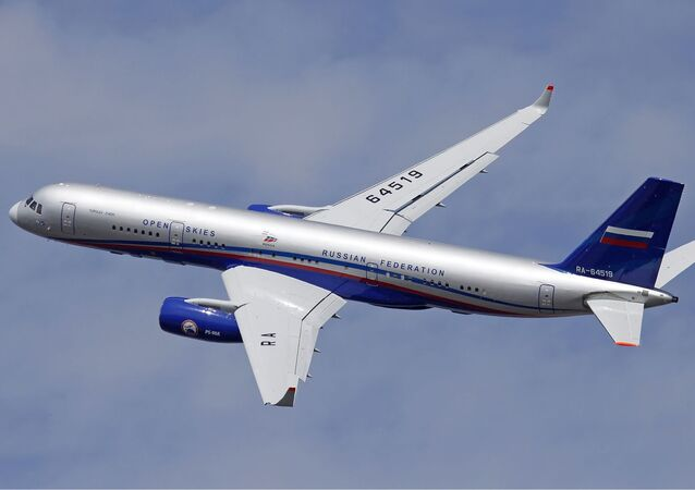 Samolot nadzoru lotniczego Tu-214ON