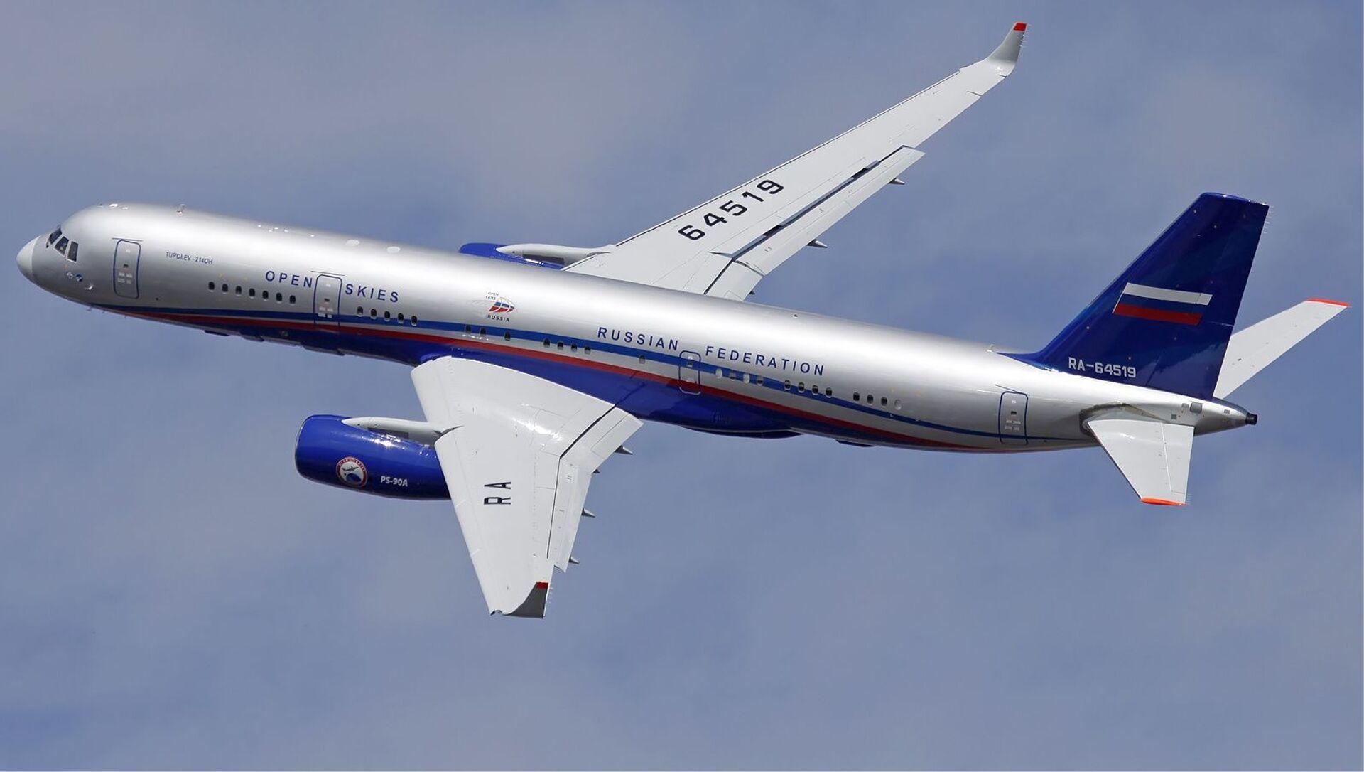 Samolot nadzoru lotniczego Tu-214ON - Sputnik Polska, 1920, 11.02.2021