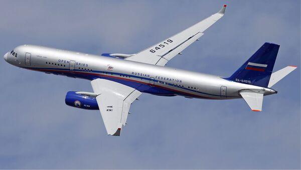 Samolot nadzoru lotniczego Tu-214ON - Sputnik Polska