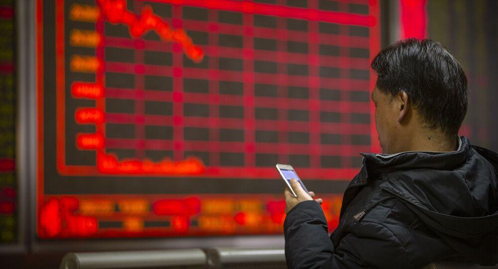 Giełda w Chinach