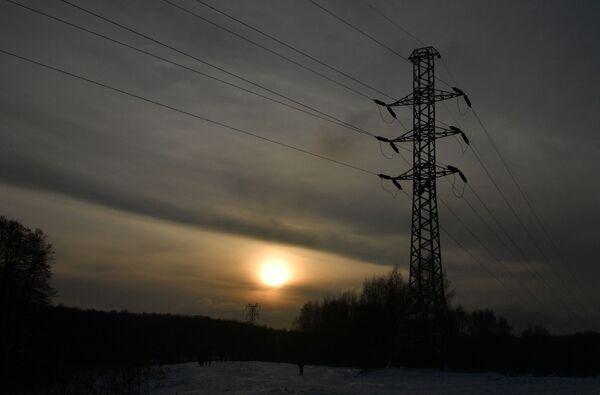Zachód słońca w Moskwie - Sputnik Polska