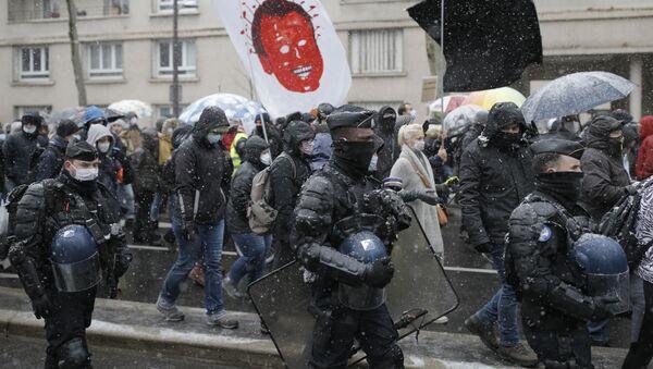 Marsz Wolności w Paryżu - Sputnik Polska