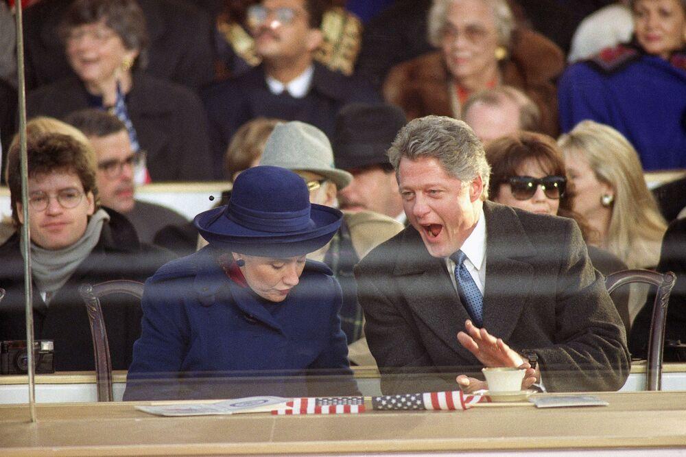 Bill Clinton i Hillary Clinton