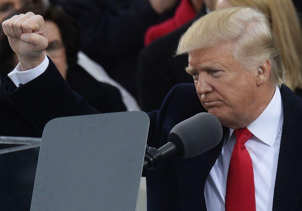 Obecny prezydent USA Donald Trump