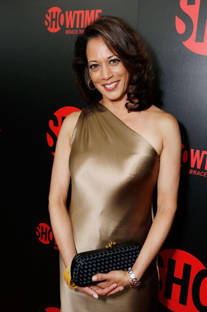 "Kamala Harris na Showtime's 2012 ""EMMYEVE"" w Kalifornii"