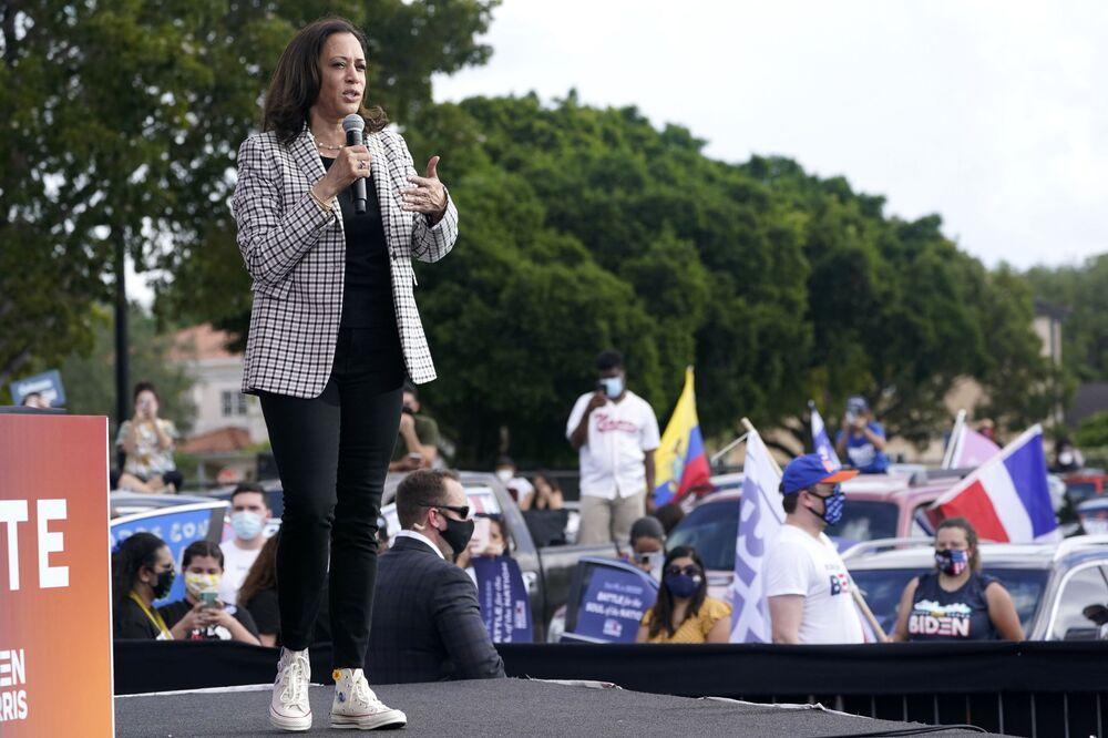 Kamala Harris w Miami, 2020 rok