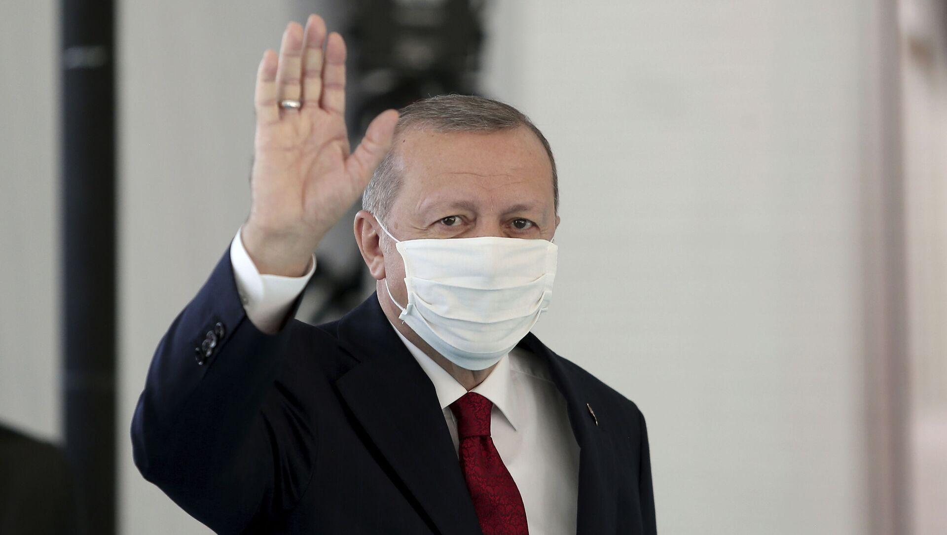 Recep Tayyip Erdogan - Sputnik Polska, 1920, 15.04.2021
