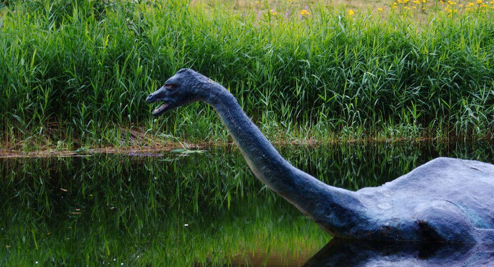 Potwór z Loch Ness w Scottish Lake