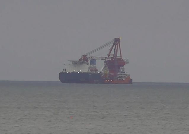 Niemcy: USA nałożyły sankcje na rosyjski statek budujący Nord Stream 2