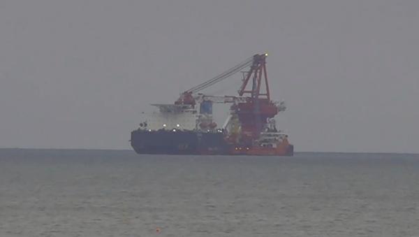 Niemcy: USA nałożyły sankcje na rosyjski statek budujący Nord Stream 2 - Sputnik Polska