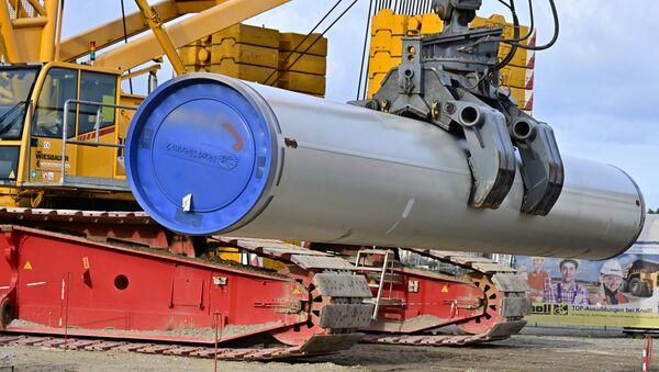 Budowa gazociągu Nord Stream 2 - Sputnik Polska