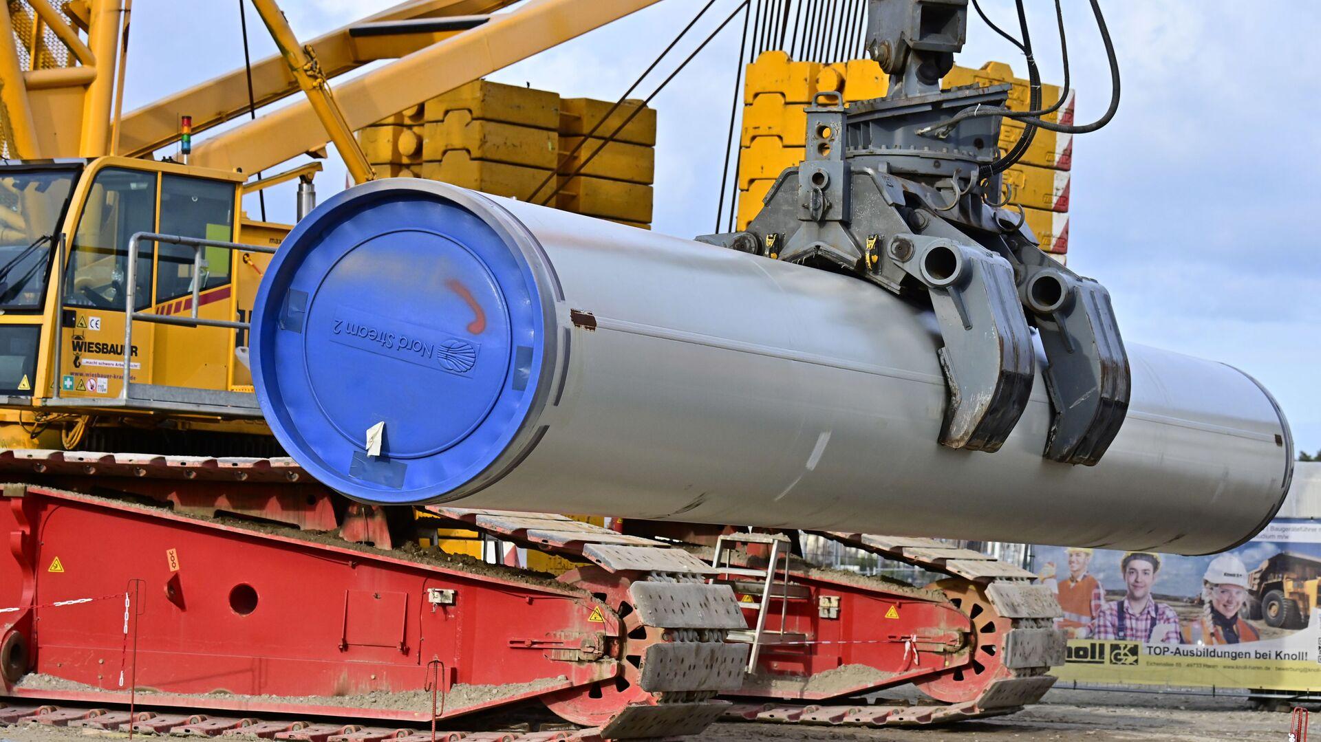 Budowa gazociągu Nord Stream 2 - Sputnik Polska, 1920, 02.02.2021