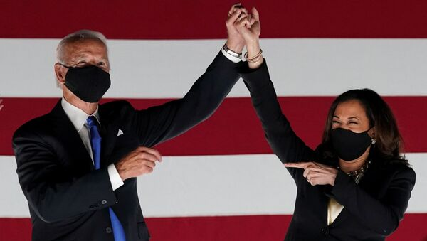 Joe Biden i Kamala Harris - Sputnik Polska