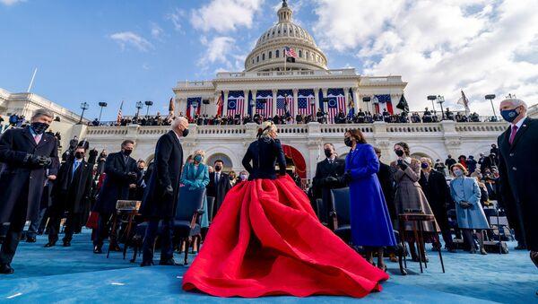 Ceremonia zaprzysiężenia prezydenta i wiceprezydent USA - Sputnik Polska