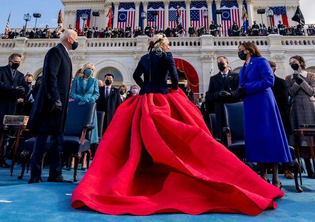 Ceremonia zaprzysiężenia prezydenta i wiceprezydent USA