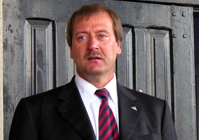 Deputowany Parlamentu Europejskiego z Republiki Litewskiej Viktor Uspaskich