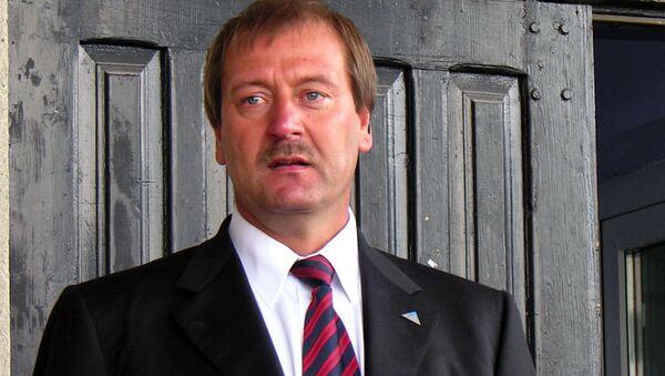 Deputowany Parlamentu Europejskiego z Republiki Litewskiej Viktor Uspaskich - Sputnik Polska