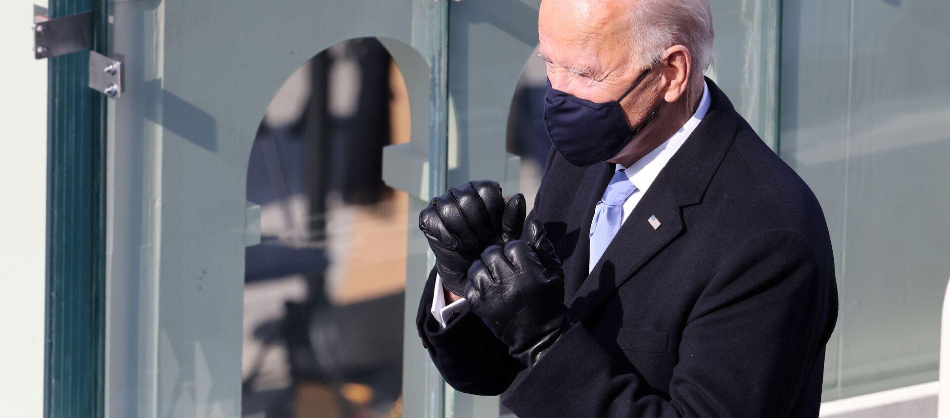 Joe Biden podczas inauguracji w Waszyngtonie - Sputnik Polska, 1920, 04.02.2021
