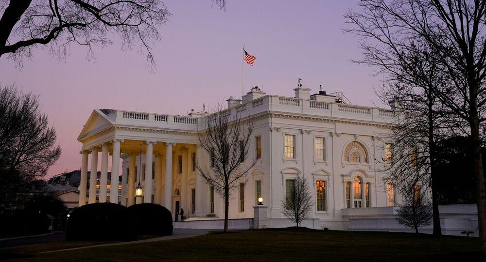 Biały Dom w Waszyngtonie.