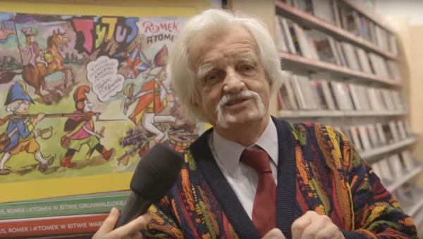 Autor komiksów Henryk Jerzy Chmielewski - Papcio Chmiel - Sputnik Polska