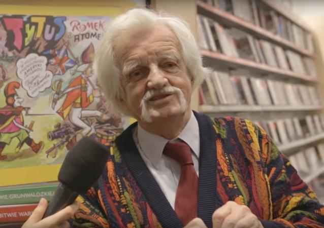 Autor komiksów Henryk Jerzy Chmielewski - Papcio Chmiel